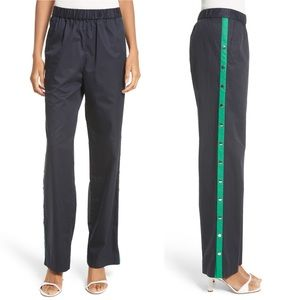 Tibi Snap Side Track Pants Size S MSRP $395